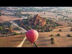 Balloon Flight Over Bagan, Myanmar in 4K (Ultra HD) - YouTube