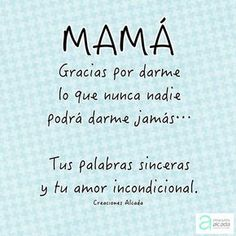 Mother Birthday Quotes, Mothers Day Quotes, Mothers Day Crafts, Mom Birthday, Happy Mothers Day, Birthday Ideas, Love Phrases, Love Words, Mom Quotes From Daughter