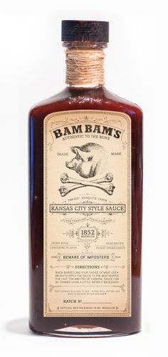 BAM BAMS BBQ SAUCE on Behance