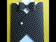 Create a bow with one strip of design paper with the WRMK Envelope Punch Board - YouTube