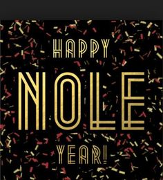 Happy Nole Year