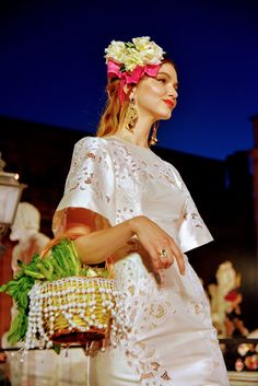 "Dolce & Gabbana Present Their Alta Moda in Palermo's ""Square of Shame"""