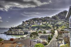 San Francisco in the distance... Sausalito in the foreground ♥