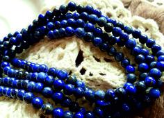 Natural Lapis Lazurit, Korálky, Bransoletka, Armband, Armbinde, Bracelets-Bangles