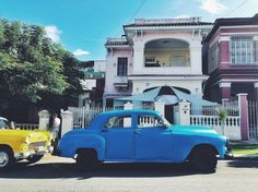 Our Havana house (and our rides 🚘) 👌