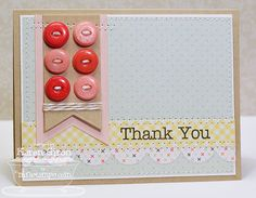 Thank You card. Like the layout