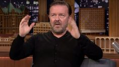 Ricky Gervais perfectly explains why men should never ever wear wigs