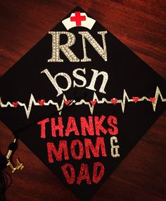 My Nursing Graduation Cap! Azusa Pacific University RN, BSN