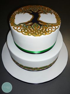 Tree of life cake!