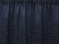 Cheltenham Navy has a subtle damask style pattern to add a classical element to these navy blue curtains. Navy Blue Curtains, Pleated Curtains, Classical Elements, Pencil Pleat, Pattern Fashion, Damask, Style, Ruffle Curtains, Swag