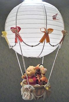 This is adorable and combines my fascination for hot air balloons and my love for Winnie the Pooh