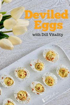 Put a new spin on deviled eggs by adding Dill Vitality essential oil. Use your Instant Pot to get perfect hard boiled eggs everytime.​ This recipe will surely be your new favorite way to enjoy this classic dish! Thm Recipes, Real Food Recipes, Cooking Recipes, Bacon Deviled Eggs, Deviled Eggs Recipe, Cooking With Essential Oils, Perfect Hard Boiled Eggs, Popular Appetizers, Holiday Recipes