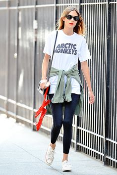 Alexa Chung out and about in New York City - 30 Jul 2014
