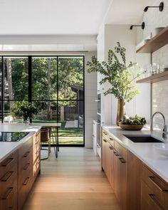 Home Decor Kitchen, Interior Design Kitchen, Home Kitchens, Kitchen Ideas, Apartment Kitchen, Küchen Design, Home Design, Design Ideas, Design Concepts
