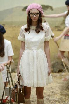 """aclockworkpink:  """" Orla Kiely S/S 2014, London Fashion Week  """""""