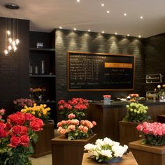 Flower shop in London