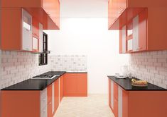 Asuncion Parallel Kitchen Interior Design Bangalore Is A Parallel Kitchen Cabinet That Comes With Laminate Finish To Give Your Kitchen More Working Space. Online Kitchen Design, Laminate Kitchen Cabinets, Kitchen Remodel, Kitchen Modular, Kitchen Remodel Layout, Kitchen Appliances Design, Kitchen Furniture Design, Home Kitchens, Parallel Kitchen Design