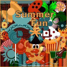 Scrapkit Summer Fun