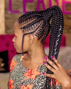 Stitch Braids Hairstyles : Trending Styles You Should Try for Your Next HairdoHi ladies. Stitch braids emerge from cornrows and have become popular since Braids Hairstyles Pictures, Braided Hairstyles Tutorials, African Braids Hairstyles, Loose Hairstyles, Hair Pictures, Ponytail Hairstyles, Hairstyle Ideas, Girl Hairstyles, Black Girl Braids