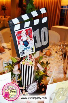 Mesero decoración temática Cine Clásico - Old Hollywood decoration themed