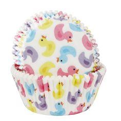 Cupcake Förmchen Badeentchen, 50 Stück Duck Cake, What The Duck, Baking Cups, Baby Shower Gender Reveal, Reveal Parties, Birthday Cake, Eat, Tableware, Desserts
