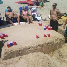 Great beach games! @Emily Schoenfeld Schoenfeld Schoenfeld Schoenfeld Luck how would this go over at the beach:)
