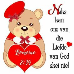 Goeie Nag, Afrikaans, Winnie The Pooh, Disney Characters, Fictional Characters, Christian, Christians, Fantasy Characters, Afrikaans Language