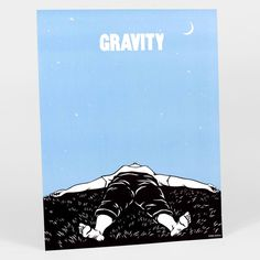 Gravity, poster print, by Nikki McClure