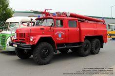 ZIL-131 6x6 TLF 24 Tanklöschfahrzeug der Freiwilligen Feuerwehr Bad Schandau - russische Bezeichnung AZ 40 (Autozisterne) ABER dieser ZIL-131 verfügt nicht über den durstigen V8-Vergasermotor, sondern über einen Dieselmotor vom IFA W 50 - mehr gibt es auch in meinem Typenkompass »DDR-Feuerwehrfahrzeuge 1945-1990« erschienen beim Motorbuch Verlag - Hersteller: Lichatschow-Werk Moskau, UdSSR (Russland) - fotografiert zum Oldtimer-Treffen am Nutzfahrzeugmuseum Hartmannsdorf am 01.05.2014…