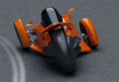 Peugeot leaning three wheeler concept //