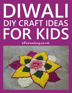 Here are some super cute Diwali DIY Craft Ideas For Kids, with lots of Diwali decoration ideas including rangoli, diyas, lanterns, candle decorations and lots of brilliant DIY ideas for celebration Diwali Activities, Creative Activities For Kids, Easy Crafts For Kids, Art For Kids, Diy Crafts, Children Activities, Card Crafts, Diwali For Kids, Diwali Diy