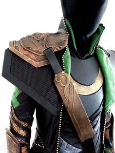 Shoulders, straps, using old belts