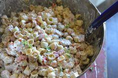 Nämä pastasalaatit on nyt meillä kovin IN! Kun edelliset on syöty niin jo pukkaa uutta. Meiän suosikki on viime aikoina ollut ehdottoma... Kitchen Time, Cooking Recipes, Healthy Recipes, Cooking Ideas, Pasta Salad, Salad Recipes, Good Food, Food Porn, Food And Drink