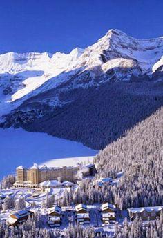 The Fairmont Chateau, Lake Louise, Canada..