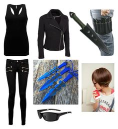 """""""Tess's Misson"""" by poppiehammie on Polyvore featuring Paige Denim, BKE, Wiley X, Sankins and plus size clothing"""