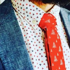 Three Creative Ways for Men To Get Really Festive For the Holidays Christmas Fashion, Christmas Gifts, Xmas, Ugly Christmas Sweater, How To Get, Neckties, Emoji, Creative, Santa