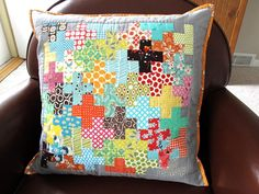 Plus Quilted Pillow