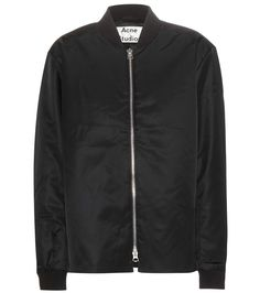 ACNE STUDIOS Fuel Tech Bomber Jacket. #acnestudios #cloth #jackets