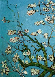 Vincent van Gogh - Almond Blossoms (detail), 1888-90