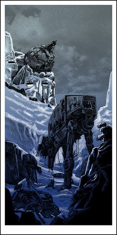 Hoth-after the waar//by Tim Doyle