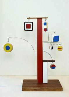 design tree! Wow, gotta make this with my kids. calder inspired