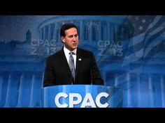 CPAC 2013 - Rick Santorum   Awesome speech!
