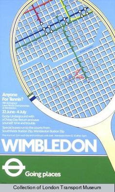 The tennis serve is in no way the main stroke utilized in the game of tennis. Wimbledon Final, Wimbledon Tennis, Tennis Posters, Sports Posters, London Underground Tube, London Transport Museum, Public Transport, Tennis Serve, Vintage Tennis