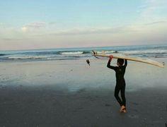 Eve surf lesson