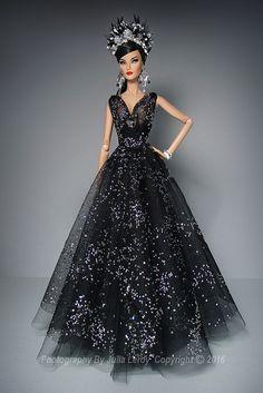 Darker Than Midnight   MIDNIGHT Goddess Dress SUPERMODEL Exc…   Culte De Paris   Flickr