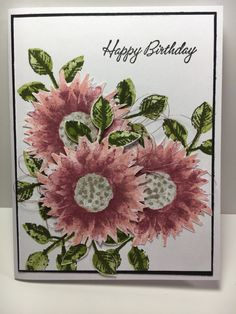 Fussy Cut Harvest by - Cards and Paper Crafts at Splitcoaststampers Homemade Greeting Cards, Homemade Cards, Fall Cards, Christmas Cards, Paper Crafts Magazine, Sunflower Cards, Card Creator, Stamping Up Cards, Rubber Stamping