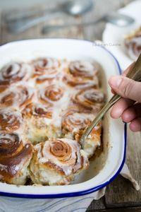 Cinnamon rolls (Brioche roulée à la cannelle)
