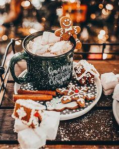 christmas mood 106 days till Christmas Q:Gingerbread or marshmallow. - christmas mood 106 days till Christmas Q:Gingerbread or marshmallows ~ Thank you so mu - Christmas Wonderland, Cosy Christmas, Days Till Christmas, Christmas Feeling, Christmas Is Coming, Merry Christmas, Xmas, Christmas Countdown, Christmas Treats