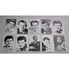 1960s Music and #Movie Star Postcards - Vintage Staples - Pedlars #Vintage