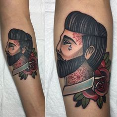 _ #gentlemantattoo _ #man #tattoo